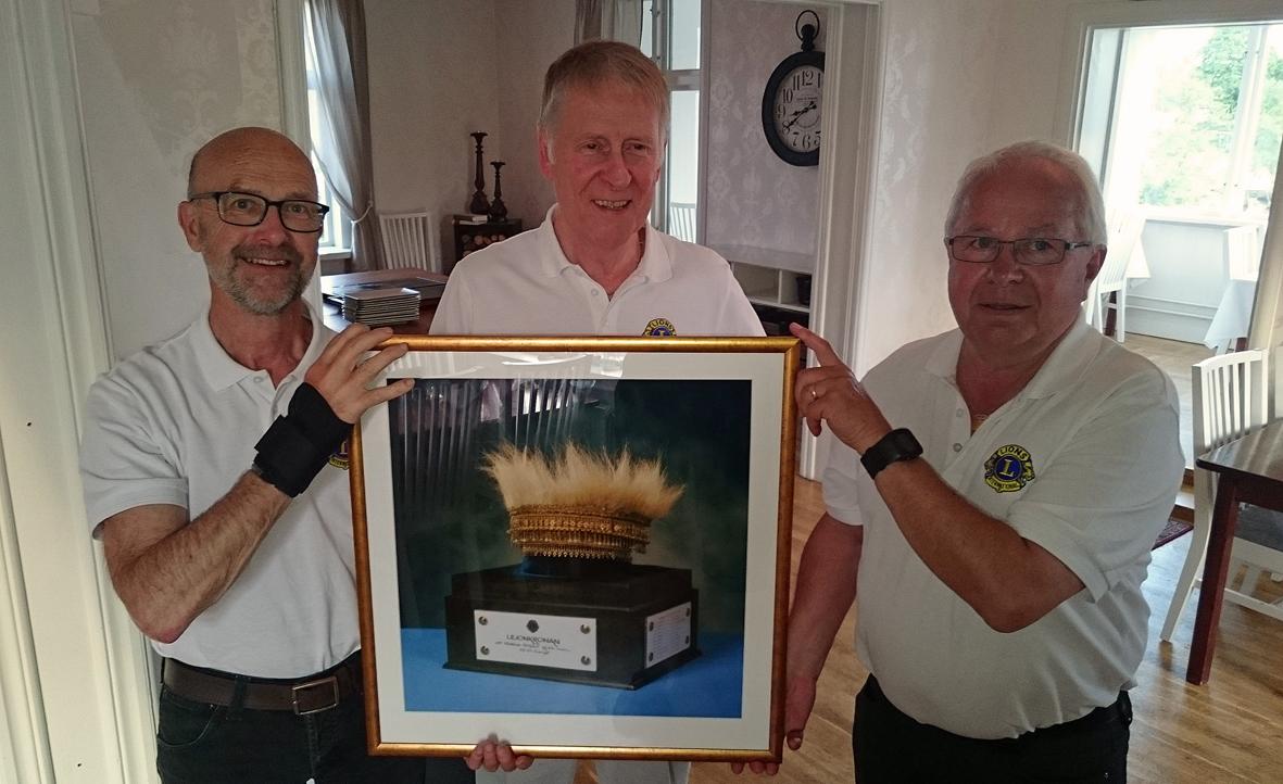 Fr.v. Torbjörn Andersson, Arne Nähl och Rolf Ström