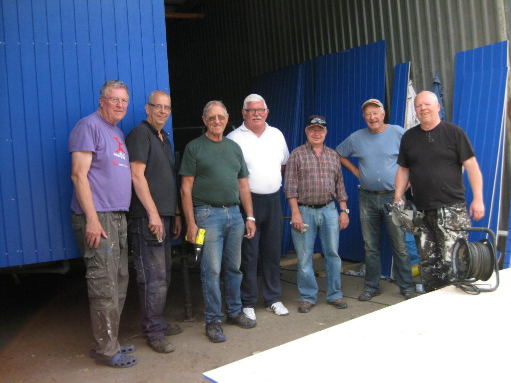 Renovering av toalettvagn, en aktivitet 2014